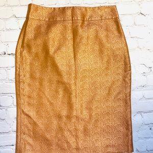 Rose gold JCrew Skirt